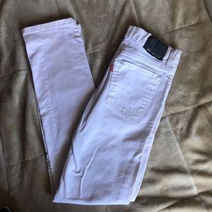 510 White Levi's Jeans